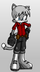 Silver Abelard The Cat