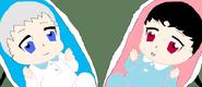 Baby Kino and Ohka