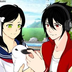 Mia, Marceli i Valentine (anime/human)
