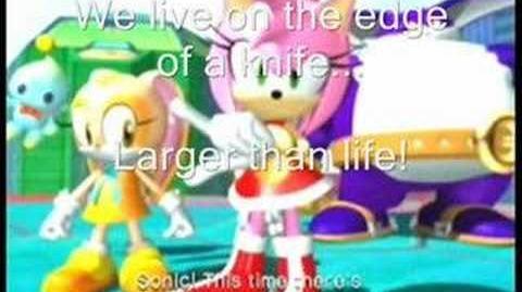 Sonic Heroes-Team Rose-Follow Me lyrics
