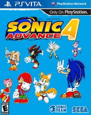Sonic Advance 4 PS Vita