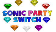 Sonic party switch logo