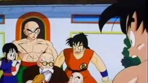Goku's Super Kamehameha Wave