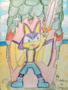 Raptor the Dragon - Sword Power