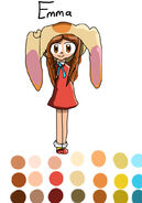 Emma as Cream