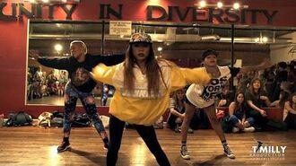 Nicki Minaj - Anaconda - Choreography by Tricia Miranda ft @kaelynnharris - @nickiminaj @timmilgram