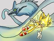 Super Sonic vs Perfect Chaos