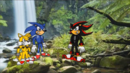 Sonic VS Shadow on Prison Island