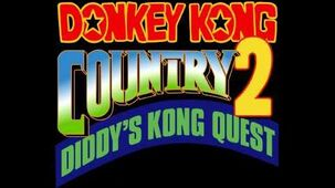 Bonus Intro - Donkey Kong Country 2 Diddy's Kong-Quest (SNES) Music Extended