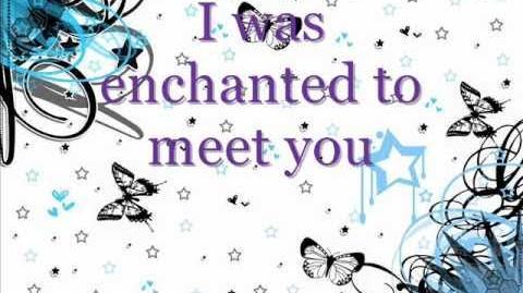 Enchanted - Taylor Swift Lyrics