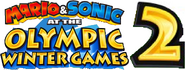 Mario & Sonic at the Olympic Winter Games 2 Logo