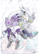 Silver and Blaze by Faezza-1-
