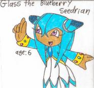 Glass the Blueberrey Seedrian