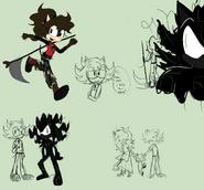 Fox Family doodles