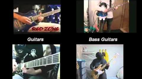 【レッドゾーン】RED ZONE GUITAR【GuitarxRedZone】(Compilation)