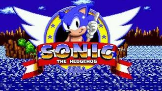 Sonic the Hedgehog Title Screen music