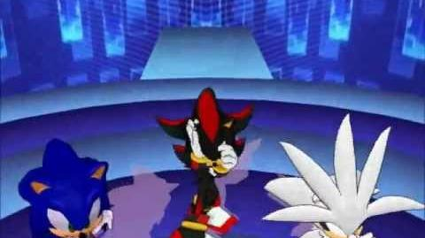 MMD Sonic, Shadow and Silver~Dream Fighter