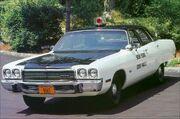 1973 Plymouth Fury NYSP