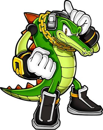 Vector The Crocodile Incaicebunny S Universe Sonic Fanon Wiki Fandom
