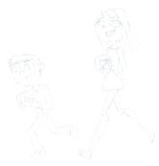 Cyan and Petunia
