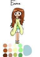 Emma as Alice
