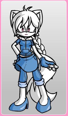 Chiyo the Arctic Fox