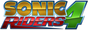 Sonic riders 4 custom logo by mauritaly-da8bwea