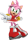 Amy Rose (BearfootTruck's Universe)