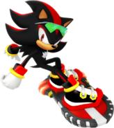 Sonic Riders Velocity Shadow Artwork