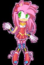 Amy Rose (Sonic Underground Game Version)