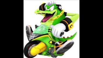 Sonic Riders Velocity - Vector The Crocodile Unused Voice Clips
