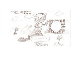 Lightning the Hedgehog (video game)