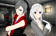Matteo and Chiyo (Anime Humans Version)