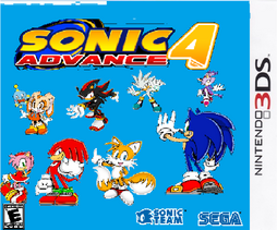 Sonic Advance 4 3DS
