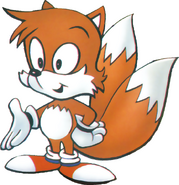 Sonic satam tails render