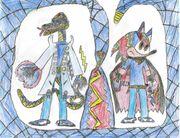Clyde the Hedgehog & other form BlueSnake