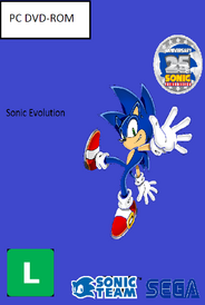Sonic Evolution PC Brazil Copy Cover