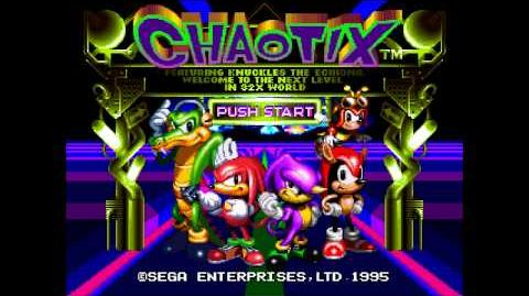 Knuckles' Chaotix (Mega Drive 32X) - Music MIDNIGHT GREENHOUSE