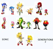 Sonic generations 2 modern and classic characters by darthzookeeper-d8bm2v5