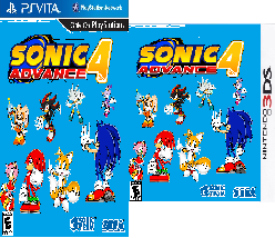 Sonic Advance 4 PS Vita and 3DS
