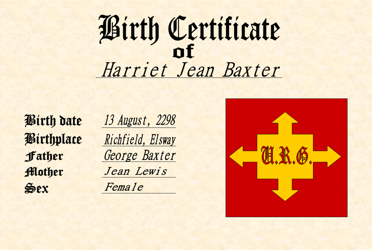 Image h j baxters birth certificateg sonic fanon wiki h j baxters birth certificateg aiddatafo Images