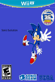 Sonic Evolution Wii U Cover