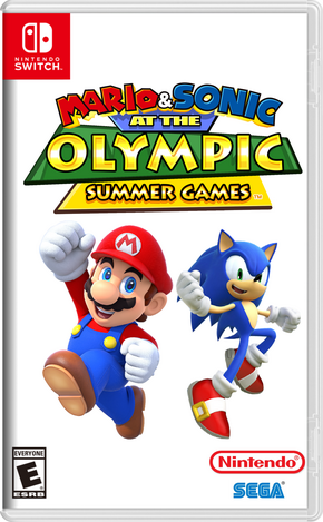 Mario & Sonic at the Olympic Summer Games Boxart