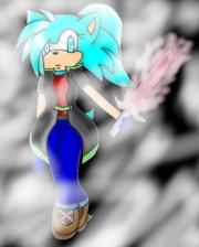 Keela with Sword