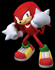 Knuckles the echidna by NigthMellan