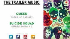 Suicide Squad Official Trailer 1 Music - (Queen - Bohemian Rapsody)