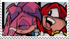 Knuckles x Julie Su Stamp by neoncat