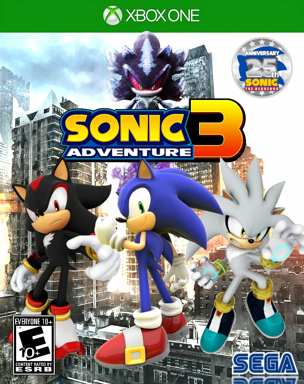 Sonic Adventure 3:The End of the World | Sonic Fanon Wiki