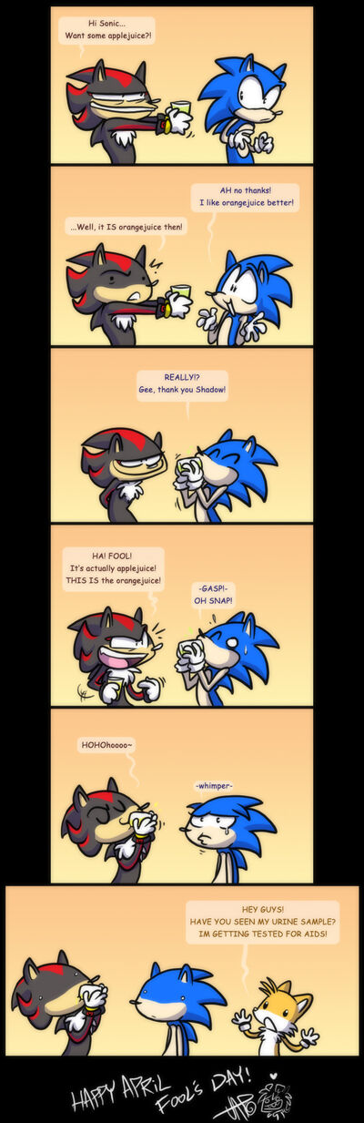 User Blog Rainbowroad6w Sonic Funny Comics And A Few Other Video Game Character Comics Sonic Fanon Wiki Fandom