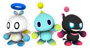 Hero, Nuetral and Dark Chao